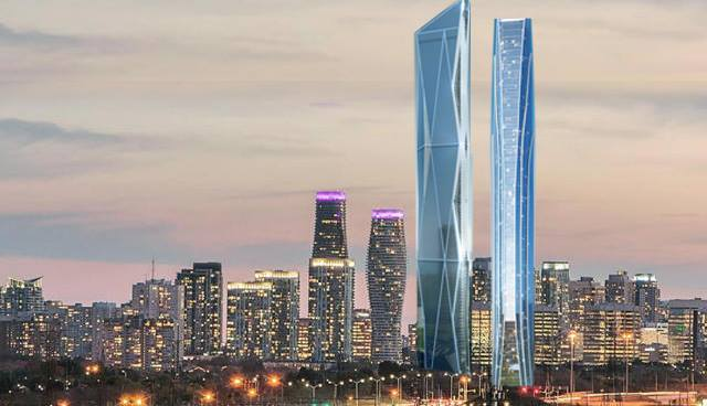 Tallest Buildings in North America (Tall as the CN Tower