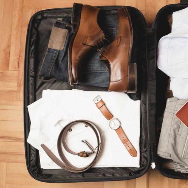 Обувь запакована носком к пятке