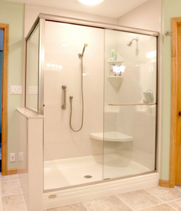 phòng tắm bằng kính