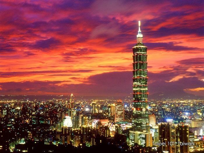 Tòa tháp Taipei 101: niềm tự hào của Đài Loan