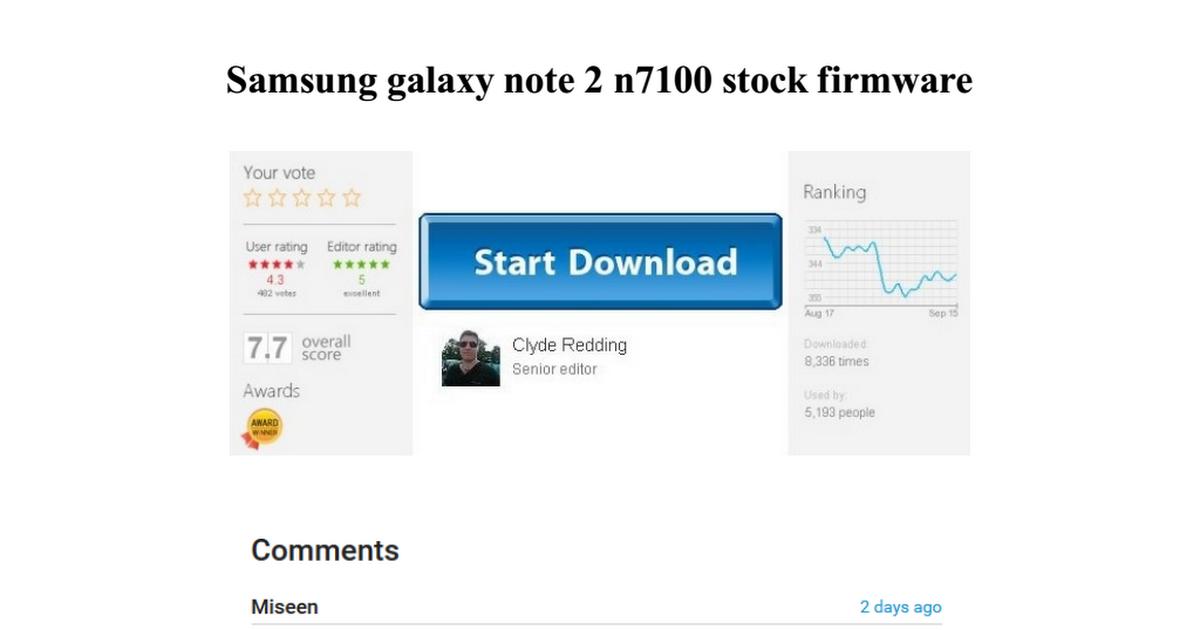 samsung galaxy note 2 n7100 stock firmware - Google Drive