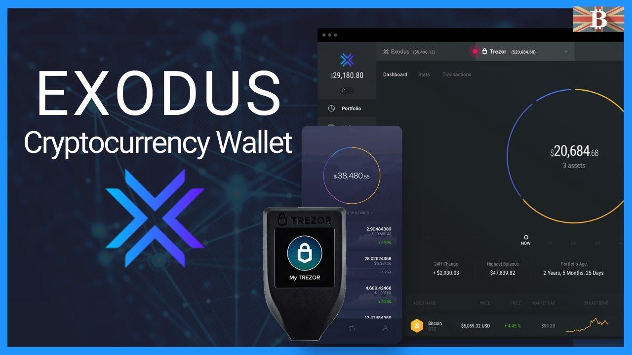 Exodus dompet untuk mata uang kripto