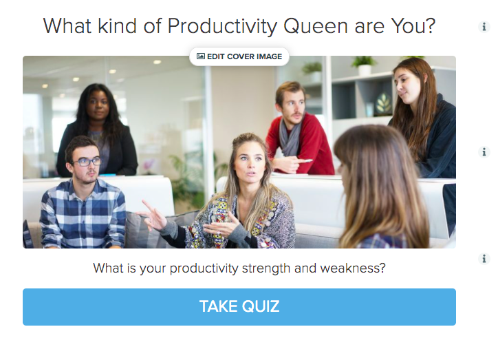 What kind of productivity queen are you quiz cover
