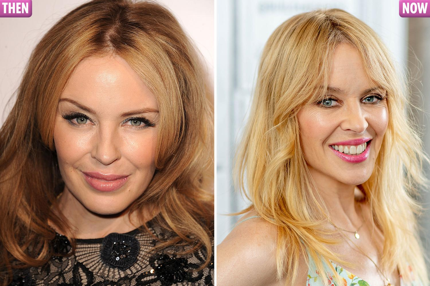 Kylie Minogue confesses: 'I'm preferring to be a lot more natural these days'
