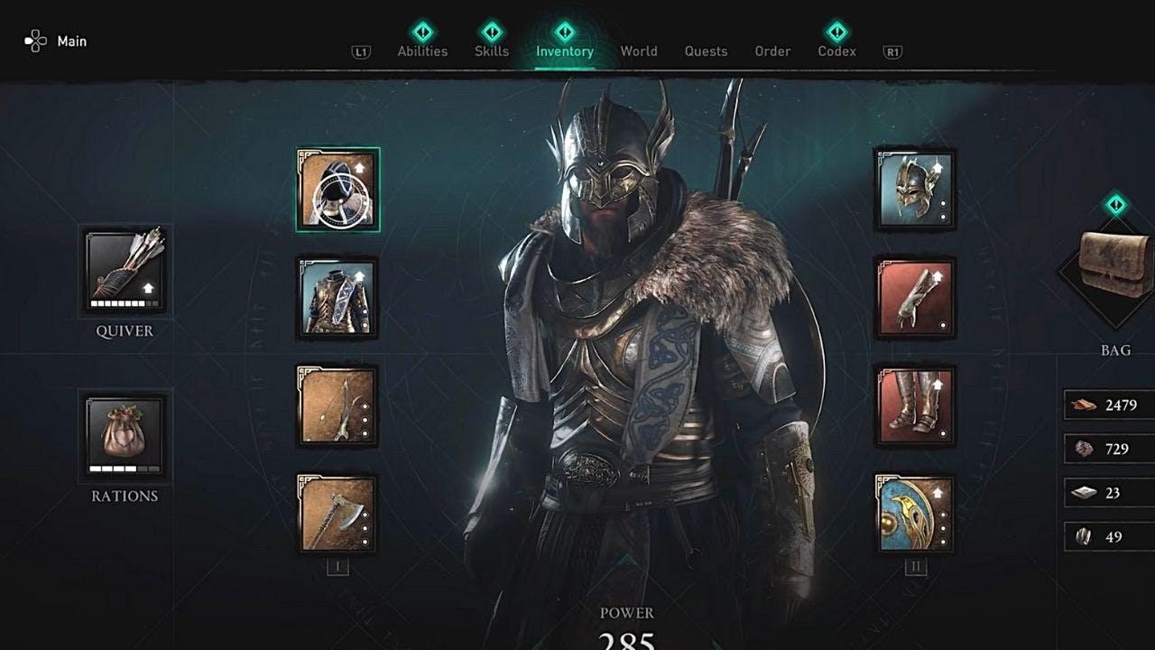 armadura de thor en valhalla