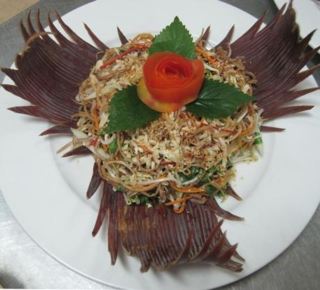 VIETNAMESE BANANA FLOWER SALAD 1