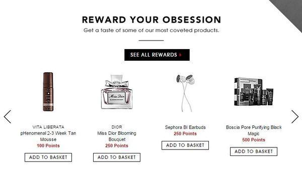 Sephora Beauty Insider loyalty program