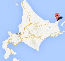 ウトロ漁港・地図