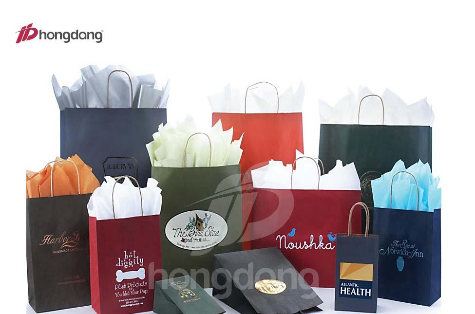 In túi giấy đẹp chuyên nghiệp còn giúp nâng tầm giá trị của sản phẩm