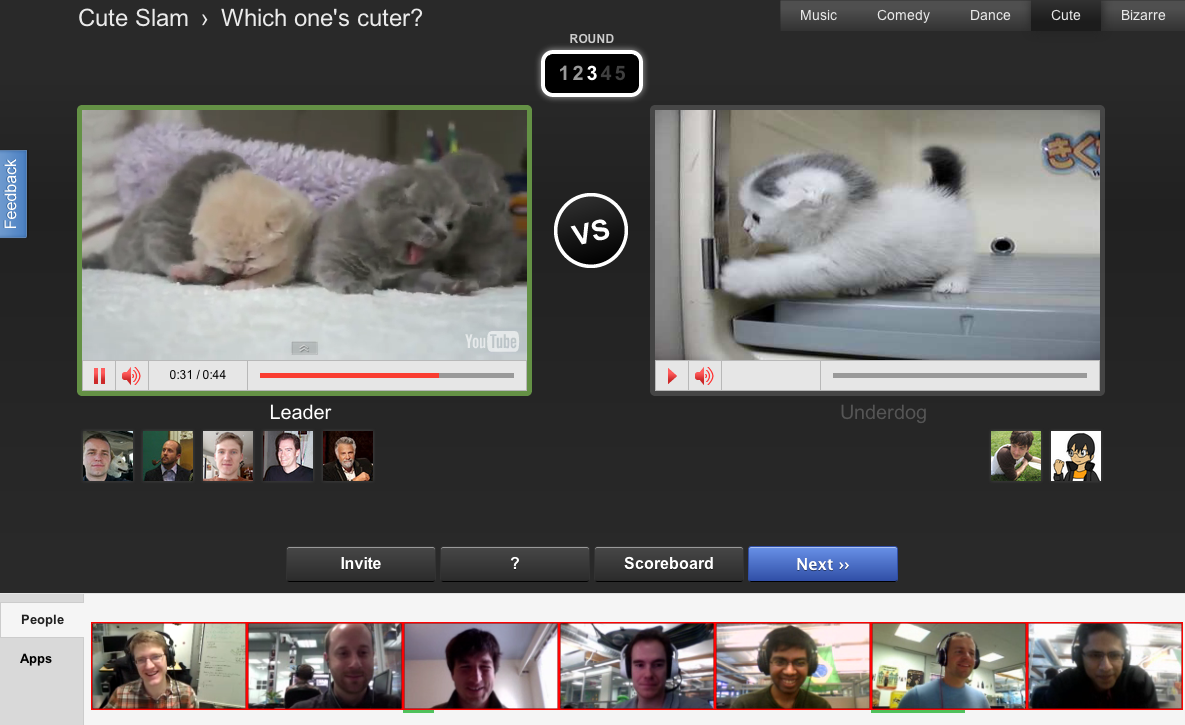 Official YouTube Blog: Create your own video duels with