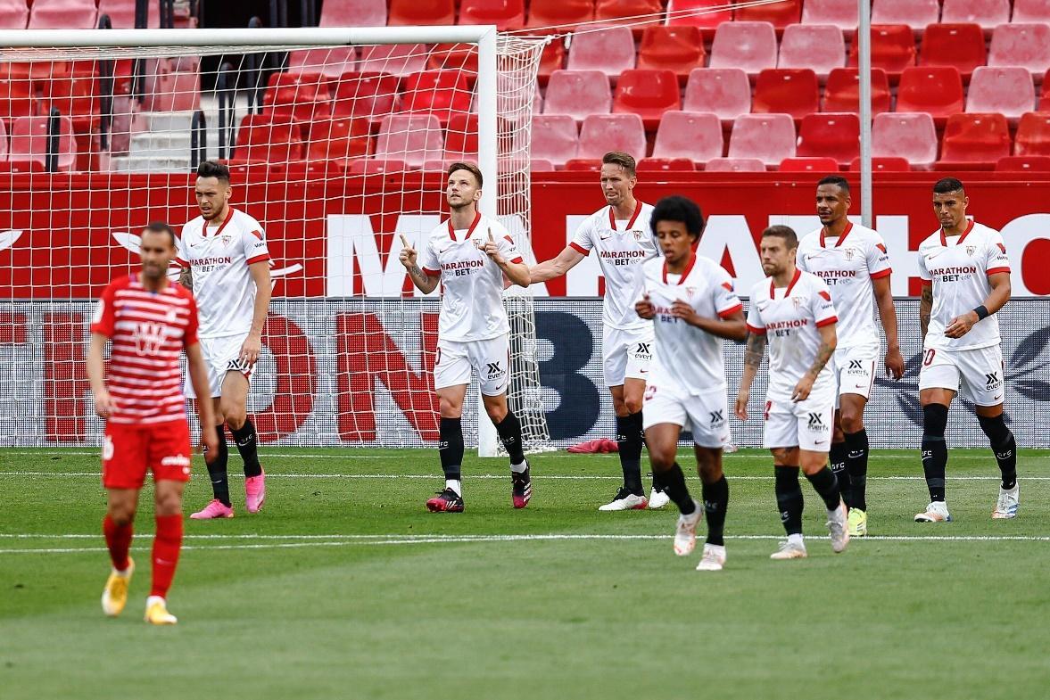 Sevilla vừa phải nhận thất bại ở vòng đấu vừa qua
