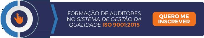 Curso de Formação de Auditores no Sistema de Gestão da Qualidade ISO 9001:2015