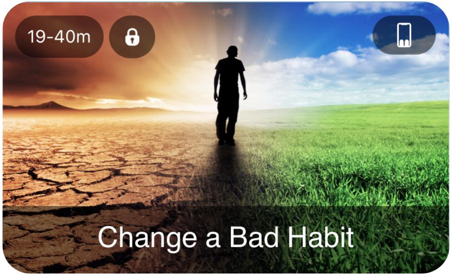MindFlow App - Change a Bad Behaviour meditation flow