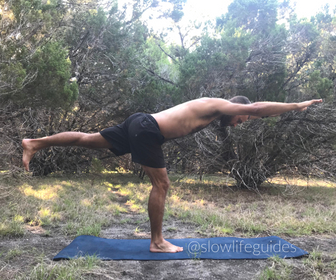 best yoga poses for core strength - warrior 3