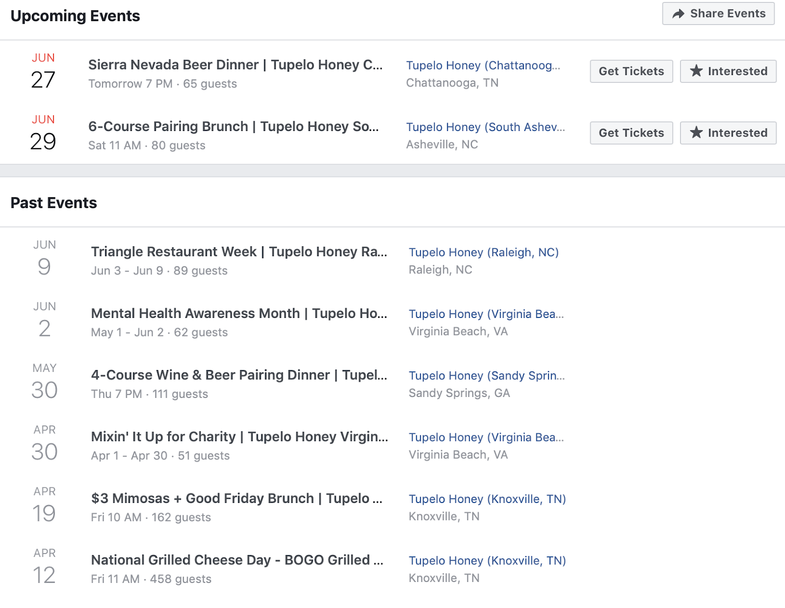 Host Local Event's   Restaurant Marketing Strategies: 11 Companies Leading The Way in 2019
