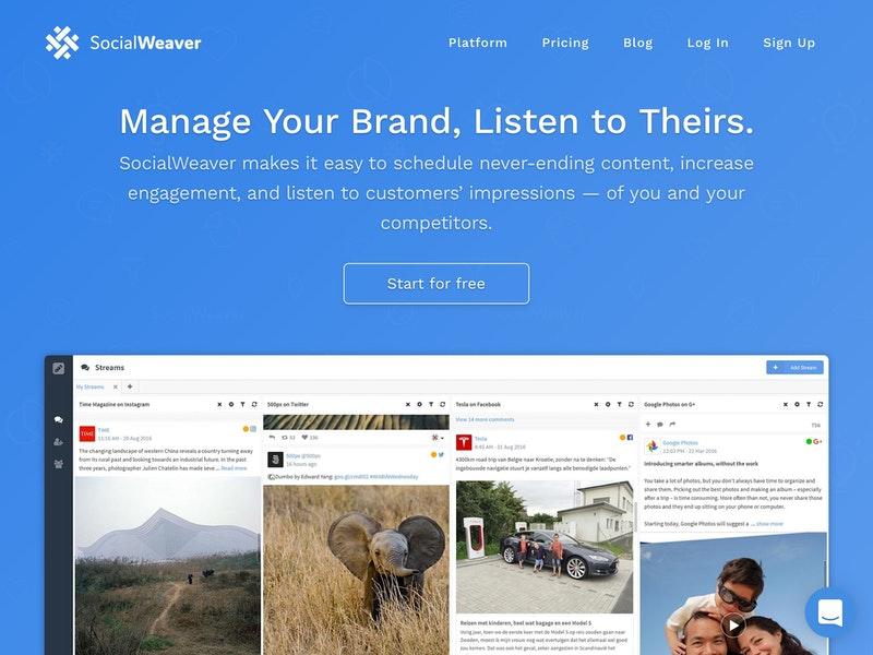 sw social media marketing tool