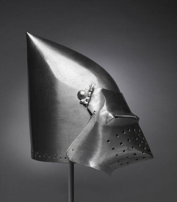 """Classical bascinet with visor """"hounskull"""""""