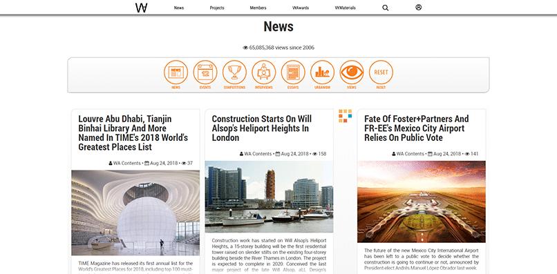 World Architecture's blog