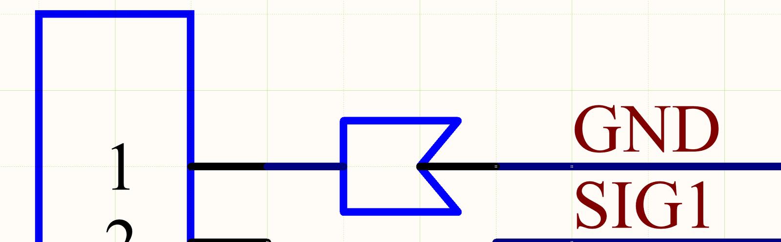 Cómo colocar un terminal de un cable crimpado en un diagrama de un esquema