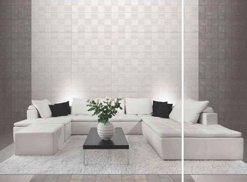 Kích thước tường gạch 75x150 phù hợp với không gian hẹp