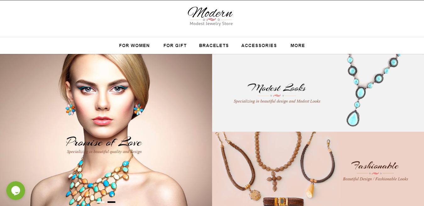 Modern - Opencart jewelry theme