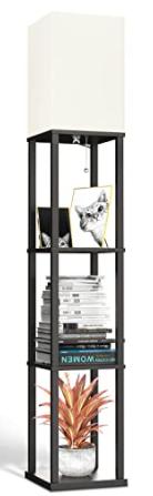 led modern shelf lamp