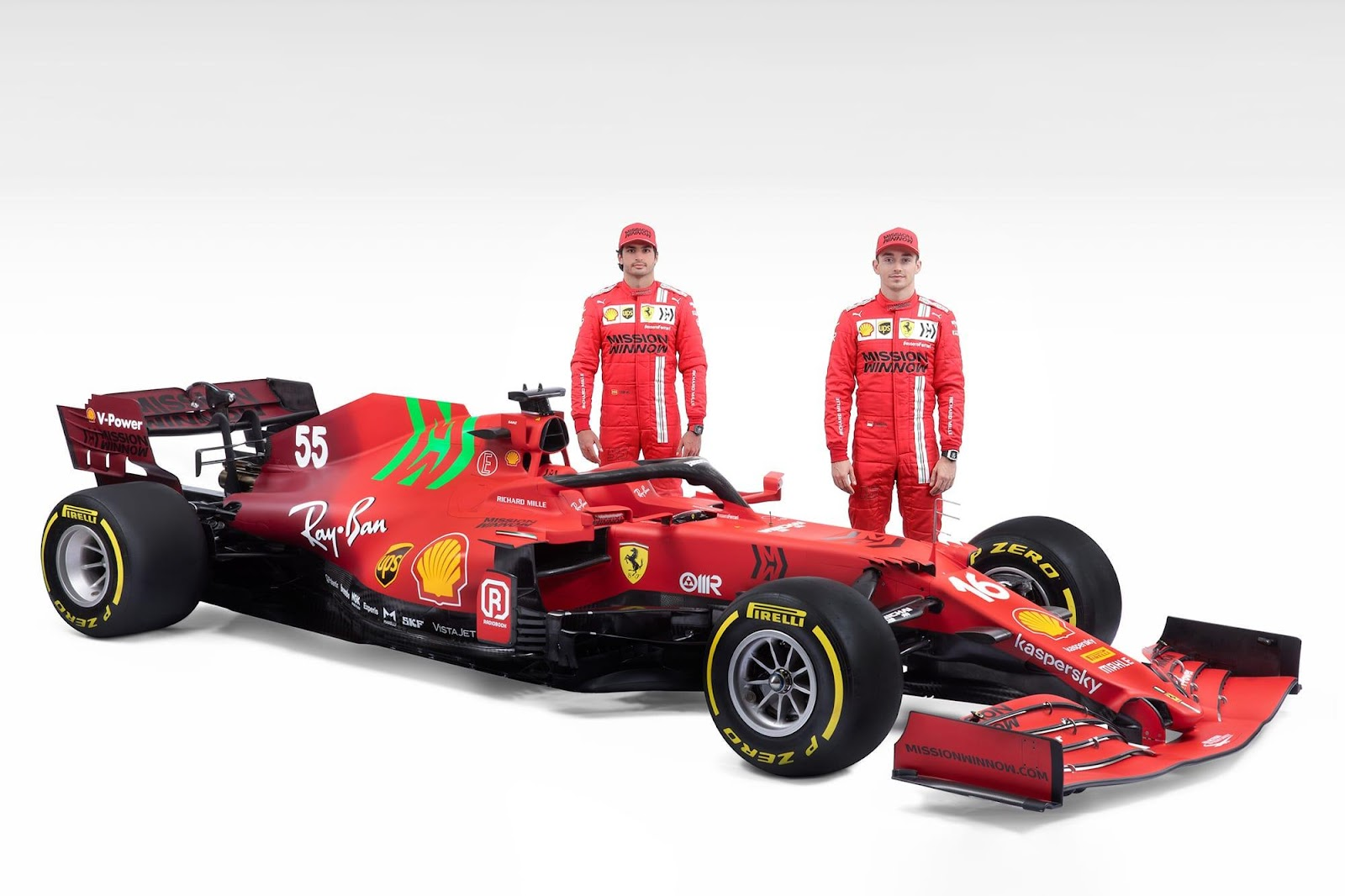Ferrari launches 2021 F1 car with revised livery - The Race