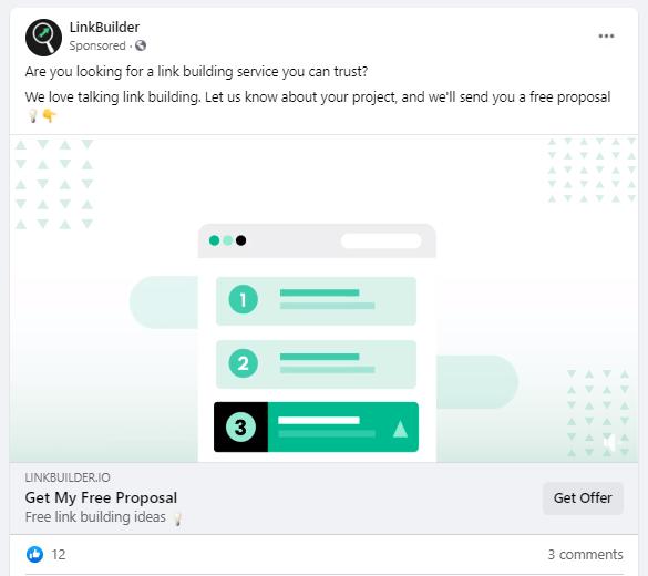 retargeting facebook ad