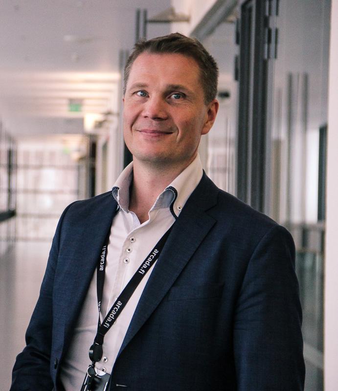 Educator Mikael Forsström