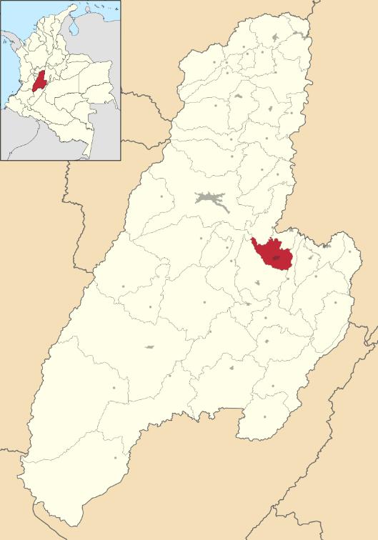 El Espinal ubicada en Tolima