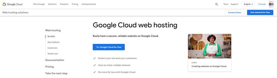 Lưu trữ web Google Cloud.