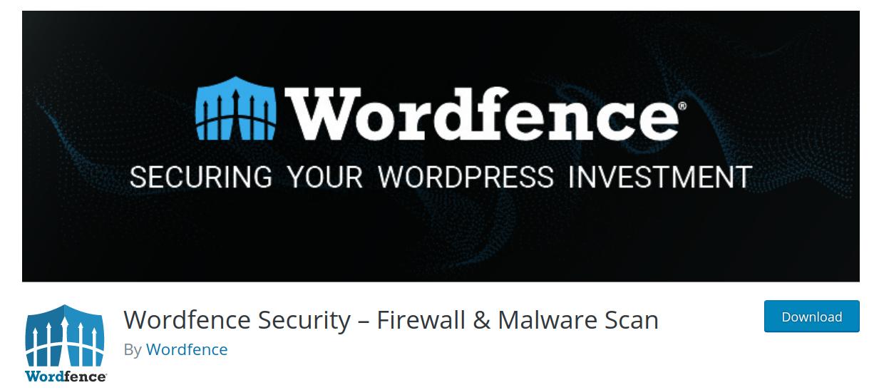 wordfence wordpress security plugin header