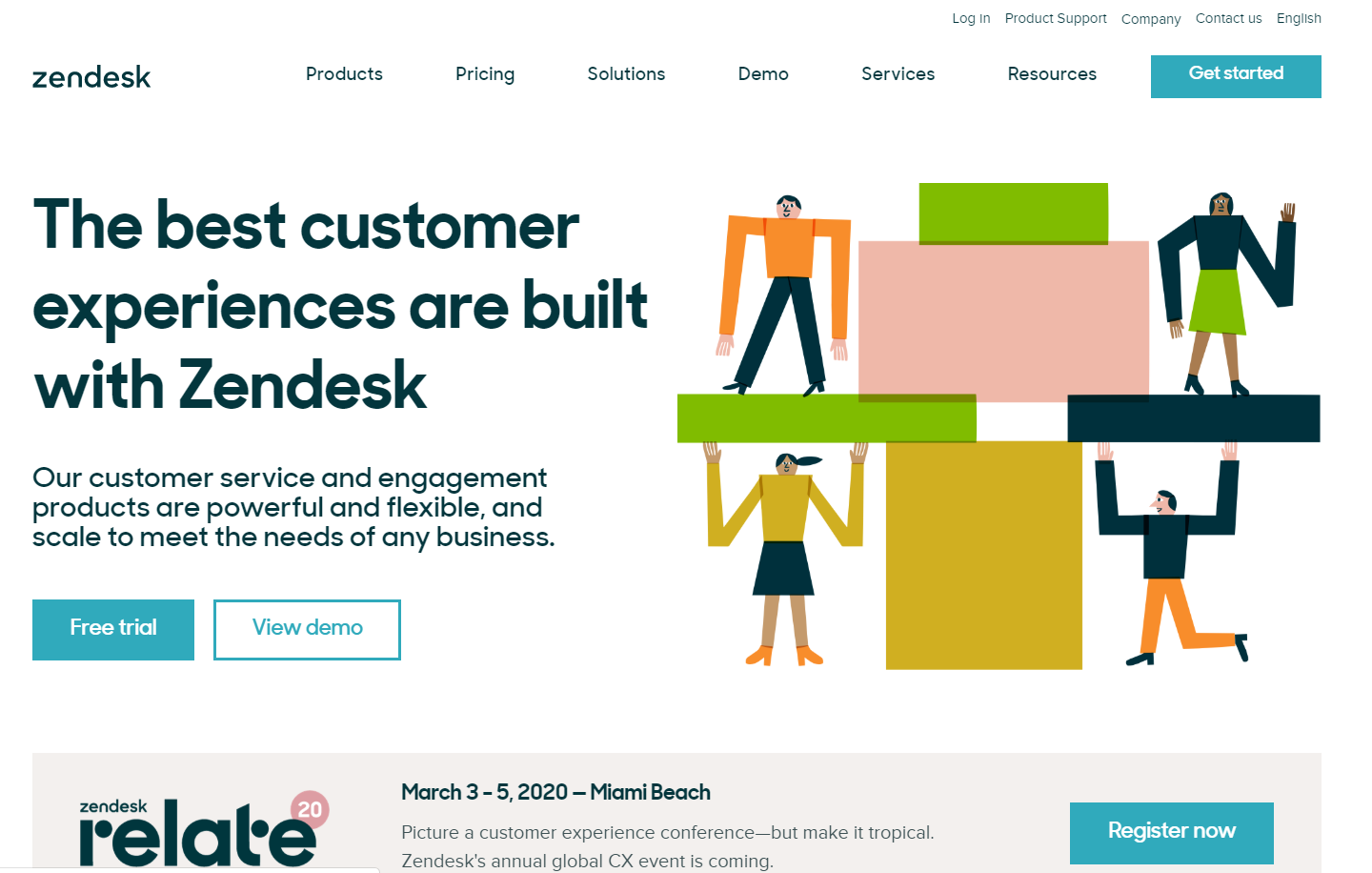 Zendesk's updated branding continued to increase brand trust because they maintained a consistent theme across all channels.