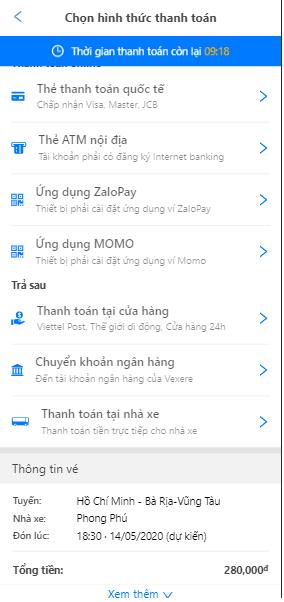 Chọn thanh toán bằng Ứng dụng ZaloPay để nhận cashback may mắn lên đến 1.000.000 VNĐ