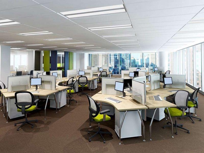 thiết kế thi công nội thất văn phòng theo hướng mở của ADP-architects