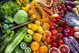 A picture containing food, vegetable, fruit, different  Description automatically generated