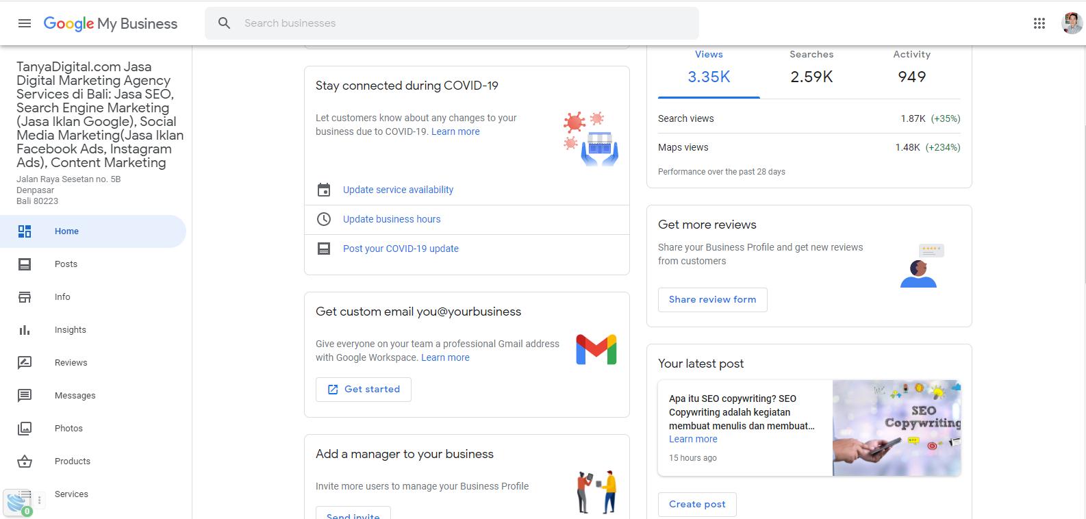 Apa Itu Google Bisnisku Manfaat Dan Pentingnya Google My Business Tanyadigital Com