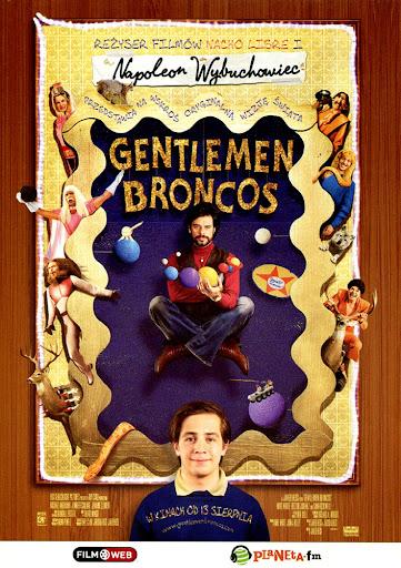 Przód ulotki filmu 'Gentlemen Broncos'
