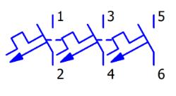 Wyłącznik nadprądowy samoczynny trójbiegunowy