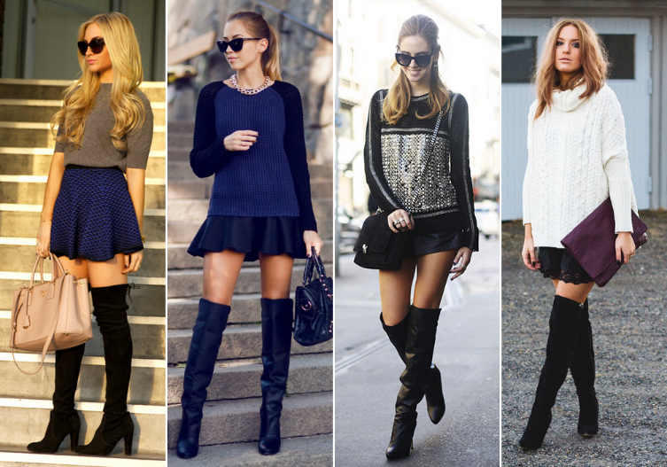 How To Wear Over The Knee Boots | Her Campus