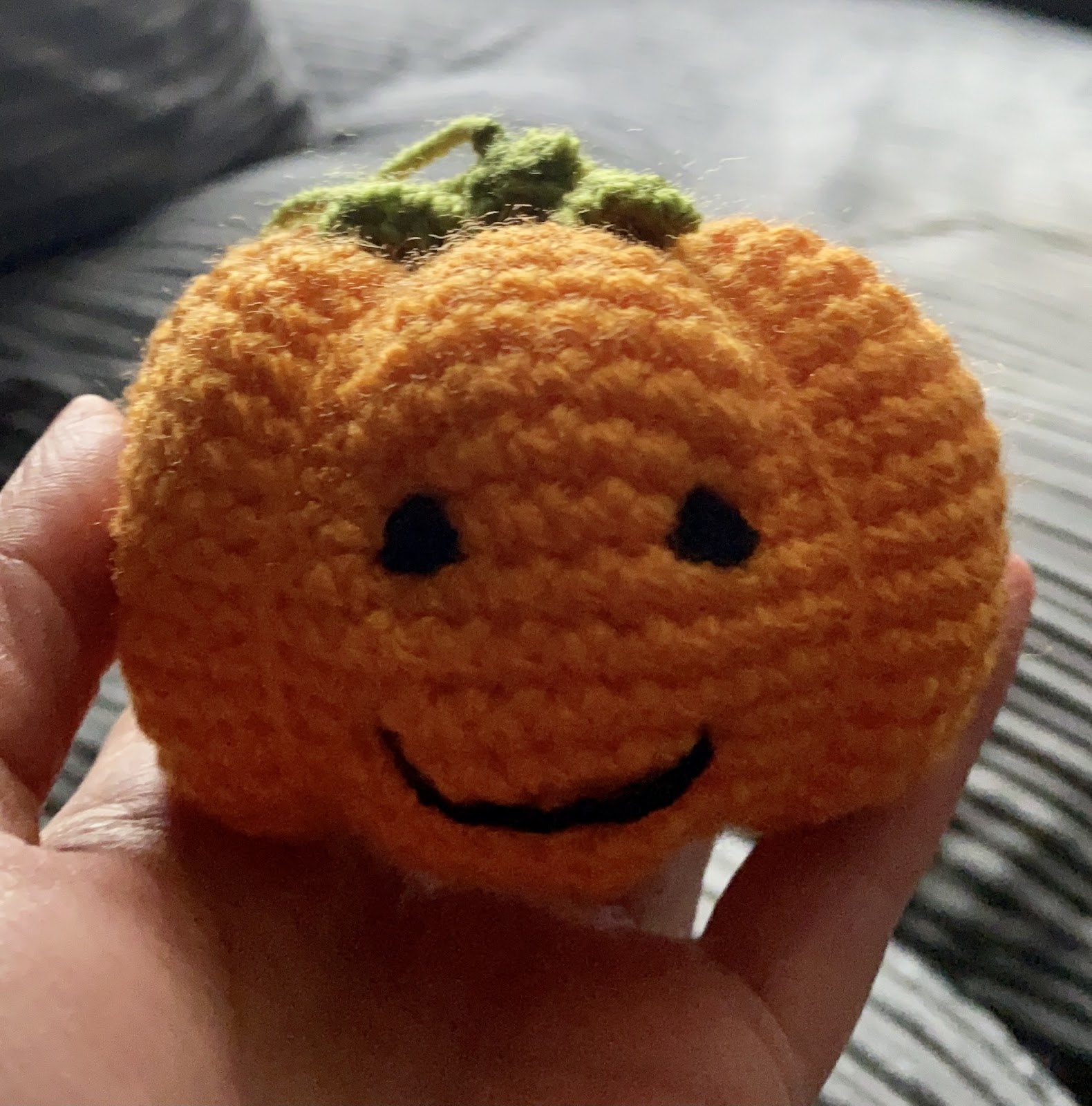 Little Crochet Pumpkin Pattern - Free