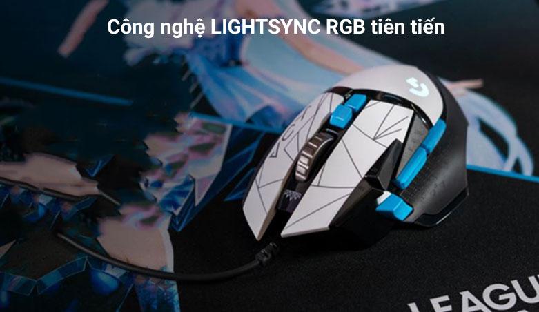 Chuột gaming Logitech G502 Hero K/DA | Công nghệ tiên tiến