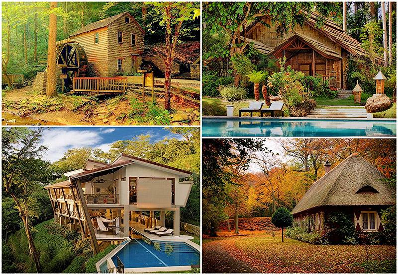 Las mejores fotograf as del mundo las m s bellas casas en - Casitas en el bosque ...
