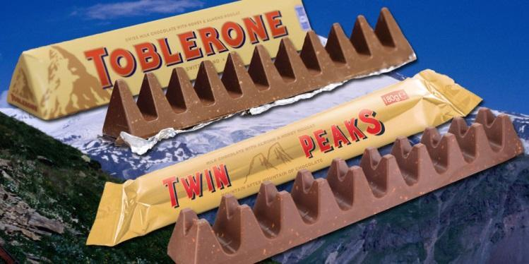 Image result for twin peaks v toblerone