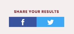 share your results on social media buttons