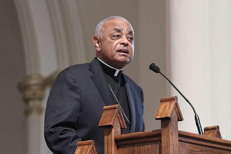 Image result for archbishop wilton gregory