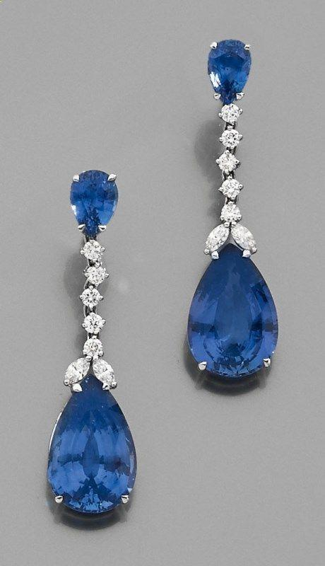 blue/sliver chandelier earrings - wedding ideas blog - wedding planning services in Philadelphia PA - K'Mich Weddings