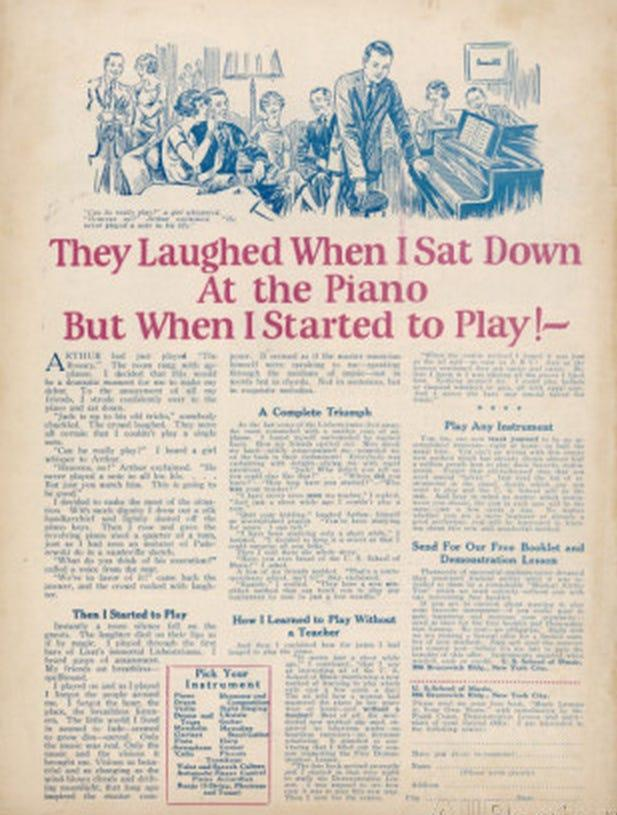 They Laughed When I Sat Down Piano ViralNova Ad