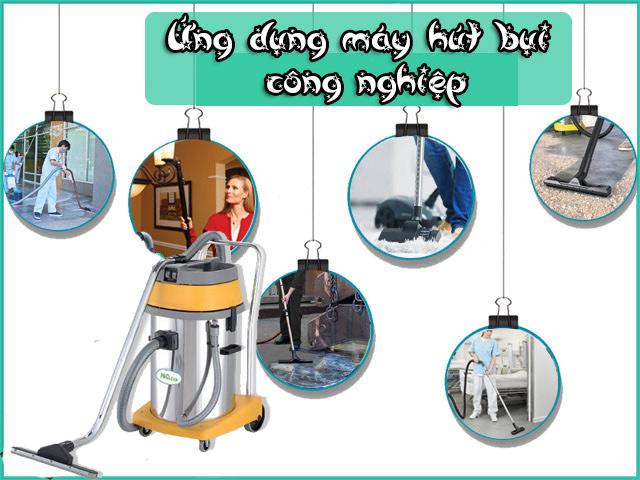 Các ứng dụng của thiết bị vệ sinh công nghiệp