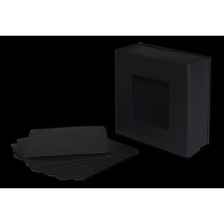 Mixed Media 5x5 Box—Black